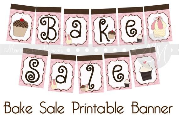 ideas for bake sale items