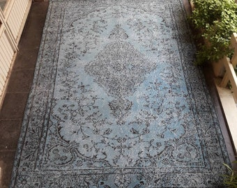 Oushak Rug,Vintage Rug, 5.7×8.3 ft FREE SHIPPING Ethnic Rug, Area Rug,Turkish Rug,Rugs for Home,Kilim Rugs,Home living Floor Rugs,Home Rugs