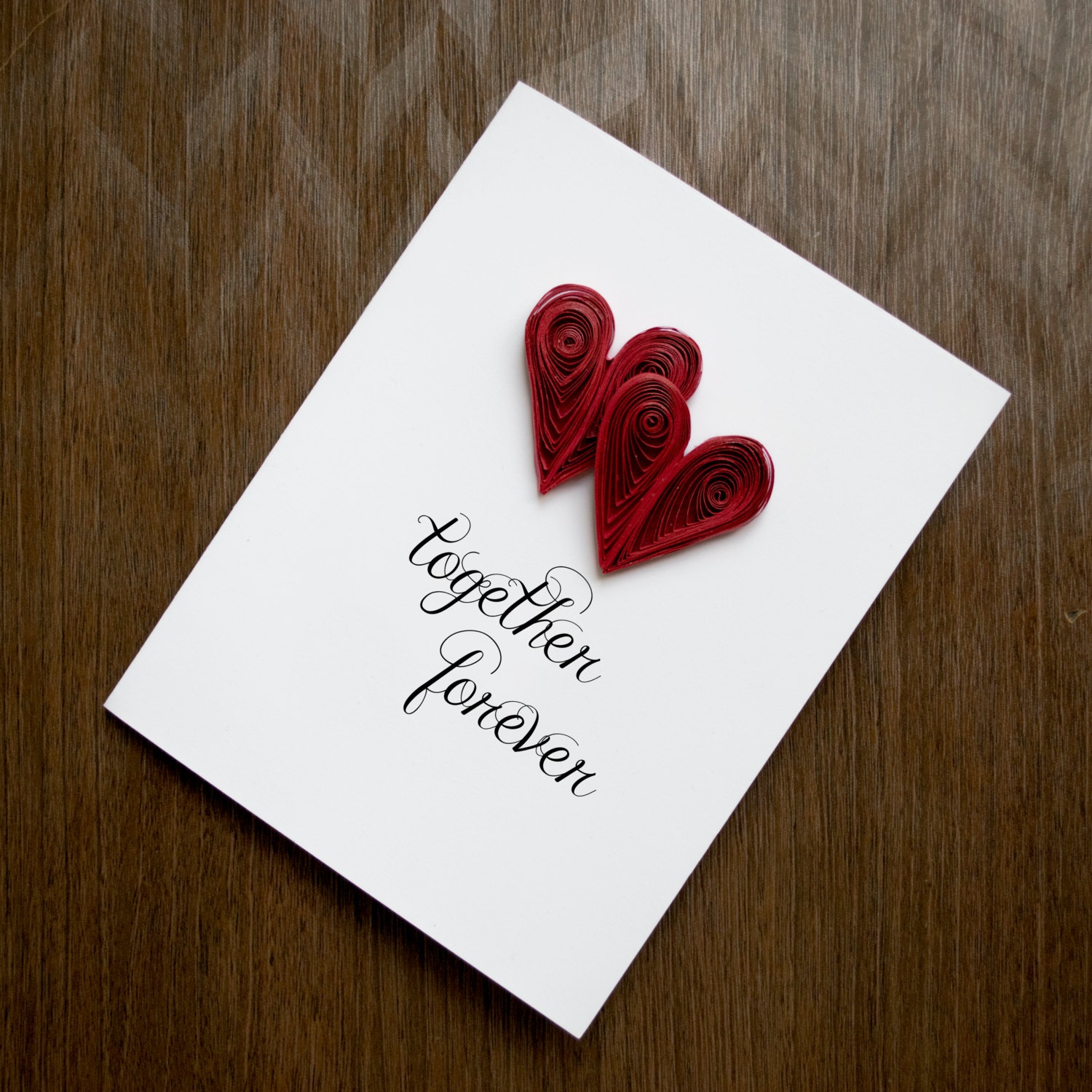 Valentine present card anniversary card card together zoom kristyandbryce Image collections