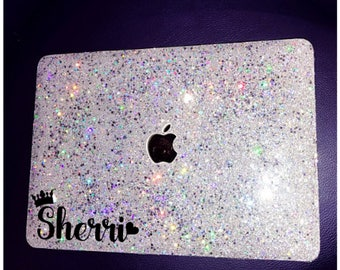 Mothers day gift Glitter Macbook Case Macbook air 13 case MacBook Pro 13 case MacBook 12 Macbook 11 case Macbook Pro 15 case gift for her