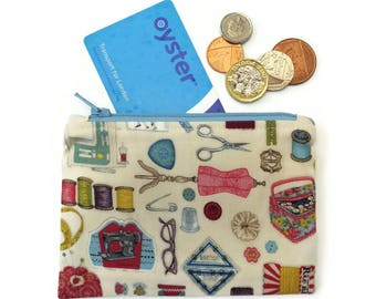 Sewing coin purse