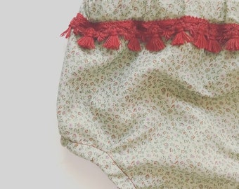 Green Vintage Bloomers