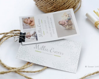 Business Card Template - layered business card template