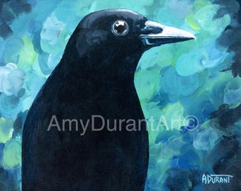 Buddy The Crow giclee print