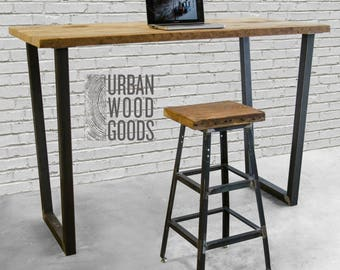 market choose with size reclaimed high etsy standing rustic tsnc il industrial top office wood desk
