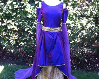 Lady Guinevere SILK Gown