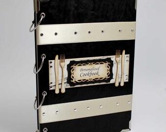 Personalized Recipe book / binder / recipe storage / Custom Recipe book