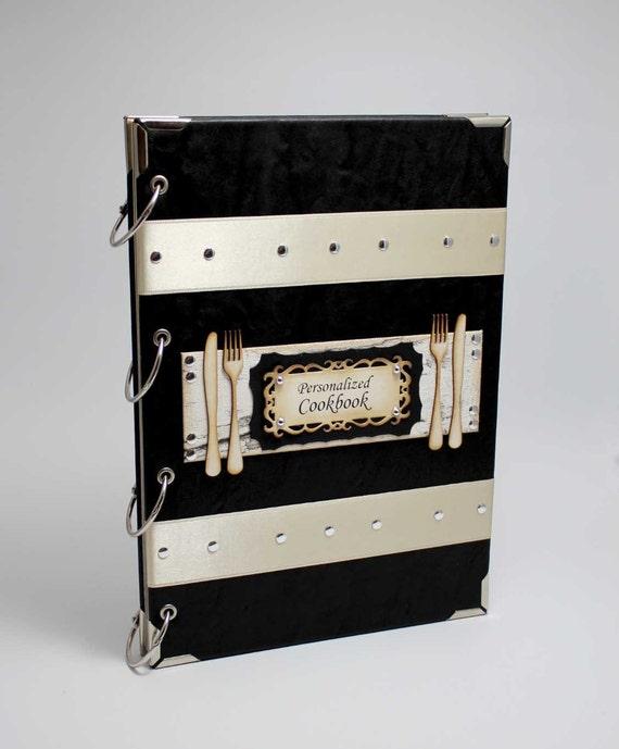 & Personalized Recipe book / binder / recipe storage / Custom