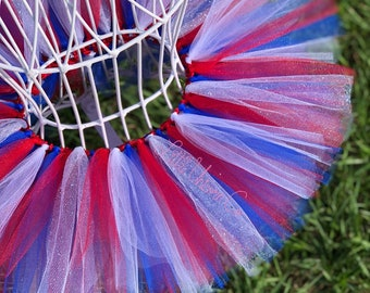 Star Spangled Sparkler, Fourth of July tutu, red white and blue tutu, patriotic tutu