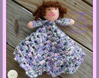 Crochet Little Friend Lovey ~ lovie ~ security blanket ~ stuffie