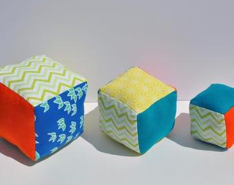 Plush blocks