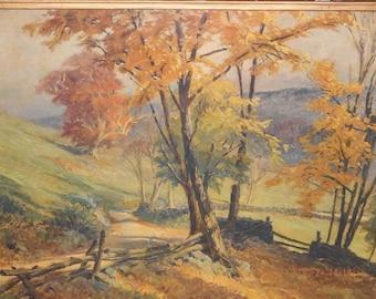 Albert Sheldon Pennoyer(1888 - 1957) Oil on Board, 1926