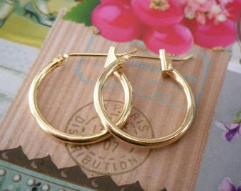 Hoop earrings, Gold hoop earrings, Small hoop earrings, Gold hoops, Small gold hoops, Gold hoops, Gold filled hoop earrings, Christmas gift