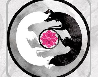 Kitsune Yin Yang - Friend or Foe