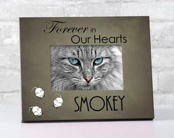 Personalized Cat Loss Memorial Frame, Pet Remembrance Frame, Gift for Pet Loss, Memorial for Loss of Pet Frame, Pet Memorial Frame, Dog Loss