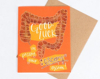 Our #5 Best Selling Greeting Card: Colonoscopy