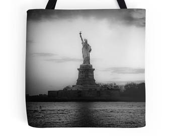 Statue of Liberty Bag, NYC Tote Bag, Statue of Liberty Tote Bag, New York City Bag, NYC Skyline Tote Bag, NYC Tote, New York City Tote Bag