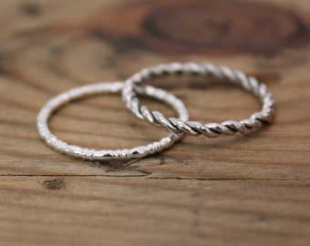 Twist and Pearl Stackers