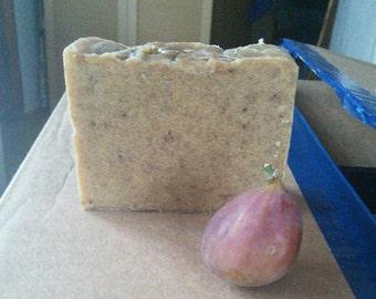Fig Brown Sugar Honey Shea Butter Goats Milk Soap