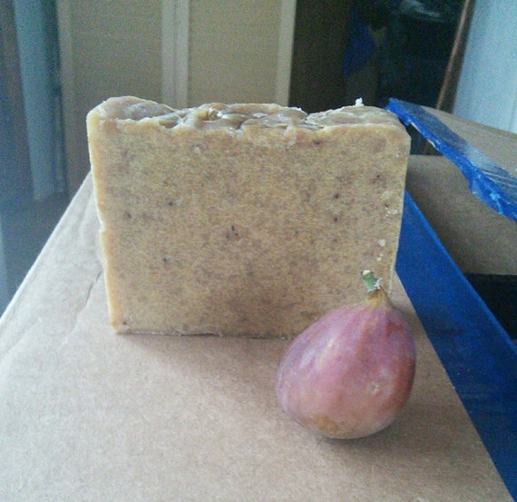 Fig Brown Sugar Honey Shea Butter Goats Milk Soap