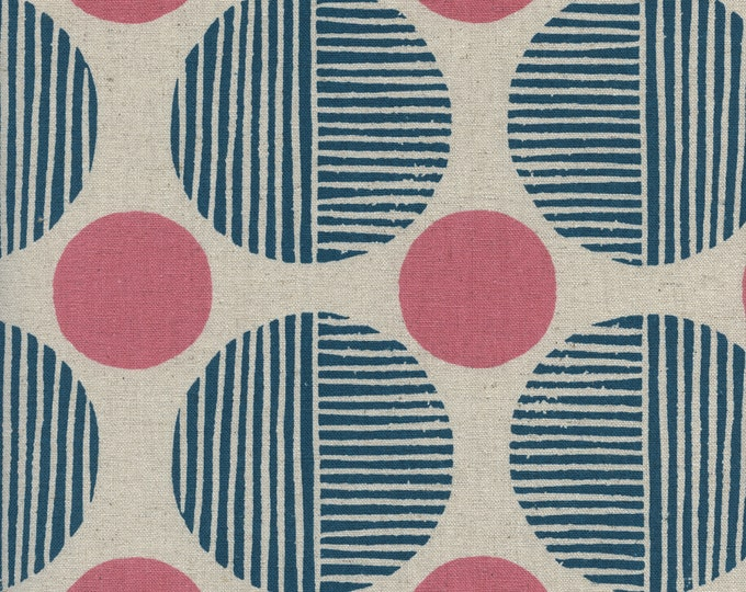 PRESALE: Stone Path in Navy (CANVAS ) from Imagined Landscapes by Jen Hewett for Cotton + Steel