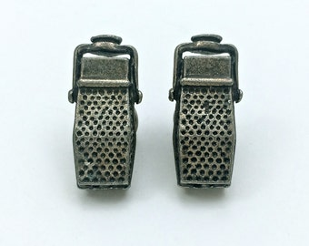 Lapel or Tie Pins in Microphone shape // Unique // Pins // Findings // Heavy Antique // Made In The USA by Winky&Dutch