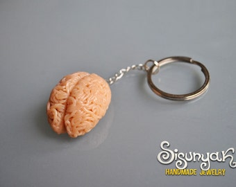Brain Keychain - Gifts for her