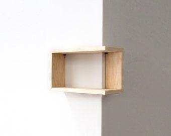 Wooden Shelf, Wooden Shelves, Wood Shelf, Geometric Shelves, Geometric Shelf, Corner Shelves, Corner Shelf, Holiday, Modern, Wood WallArt