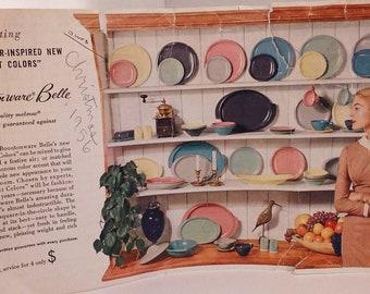 Boontonware Yellow Pink Melamine Melmac Dishes Plates, Bowls, Cups, Creamer, Sugar,  Lid  Boonton Ware