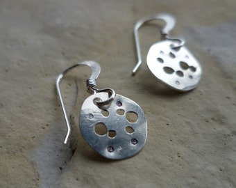 Crater Sterling earring