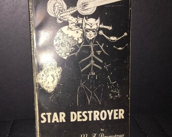 Star Destroyer softcover book autographed by author