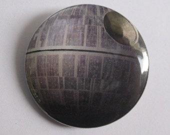 Star Wars Death Star - Pinback Button, Magnet, or Keychain