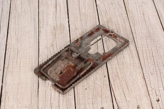 Maus Falle Vintage Metall Mausefalle Primitive Rustikale