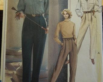 Vogue 7842, sizes 12-16, misses, petite, pants, UNCUT sewing pattern, craft supplies
