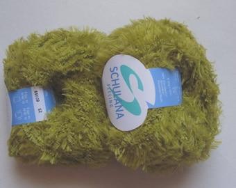 5 balls SCHULANA 25 pistachio green FEELING