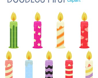 candles clip art etsy rh etsy com clipart candles black and white clipart candle for a memorial
