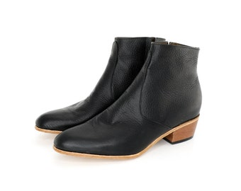 Black leather Dylan Boots for men
