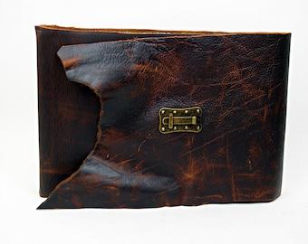 Heirloom Photo Album - Rugged Brown - Large