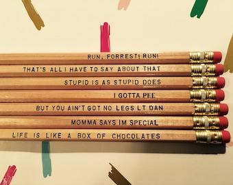 Forrest Gump Pencil Set