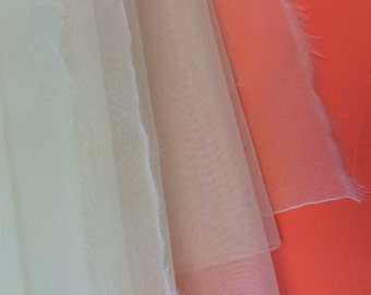 Wide Silk Organza
