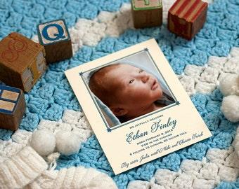 Letterpress Birth Announcement   Letterpress Adoption Announcement   Photo Announcement   Custom Birth Announcement   Small Announcement