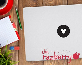 Disney Mickey Mouse Macbook Decal Laptop Stickers Macbook Stickers Disney Macbook Decal Minnie Mouse Macbook Decal Stickers Character Disney