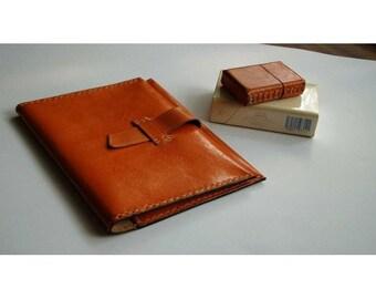 pattern Gadget leather bag, Wallet