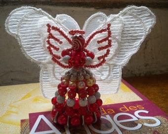 Angel Wings of butterfly beads