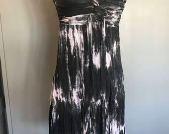 70s Tye dye cotton dress