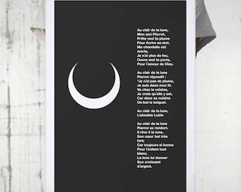 """Poster """"My nursery rhymes..."""""""