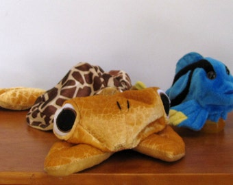 Large Sea Turtle Puppet by The Puppet Patch *Blue fish sold separately*