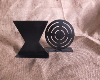 Small steel airsoft targets lightweight