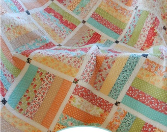 Dreamin' PDF Jelly Roll Quilt Pattern
