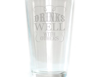 Pub Glass - 16oz - 6184 Drinks Well with Others